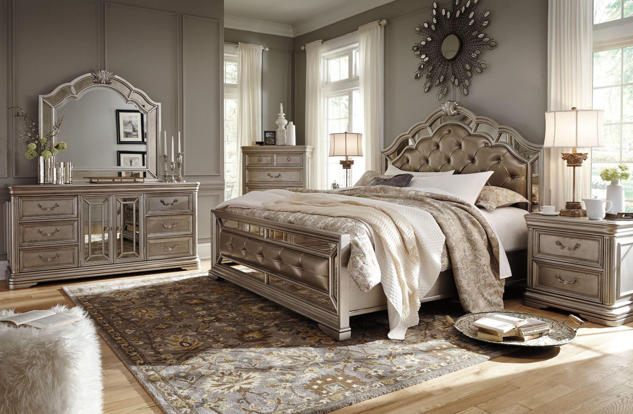 silver bedroom sets photo - 2