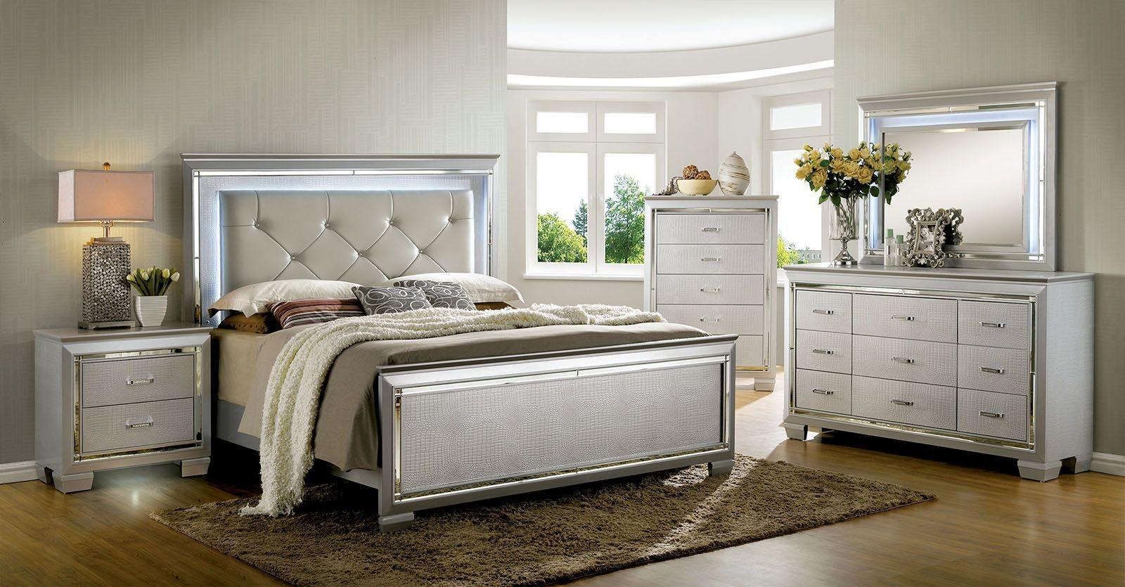 silver bedroom sets photo - 7