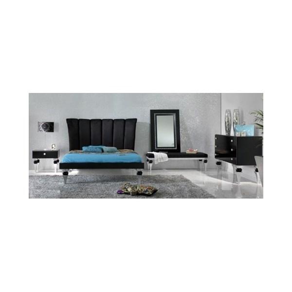 silver leaf bedroom sets photo - 10