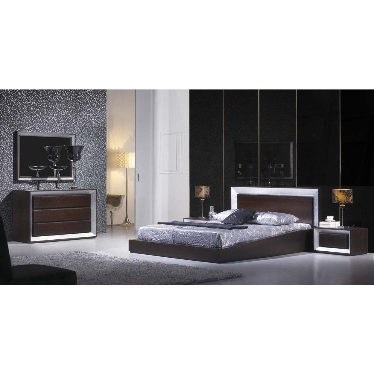 silver leaf bedroom sets photo - 2