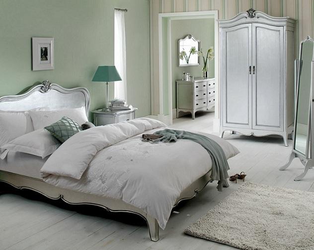 silver leaf bedroom sets photo - 3