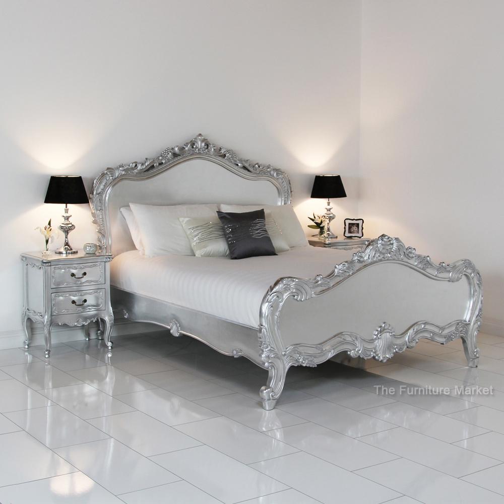silver leaf bedroom sets photo - 7