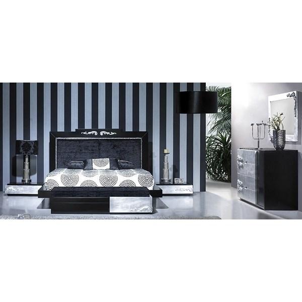 silver leaf bedroom sets photo - 9