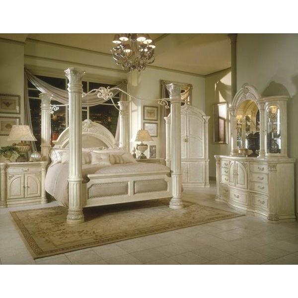 silver snow bedroom set photo - 4