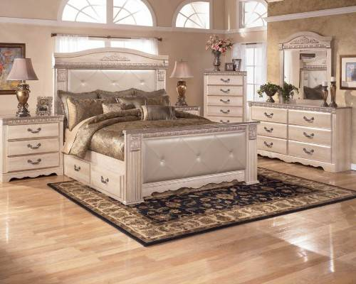 silver wood bedroom sets photo - 2