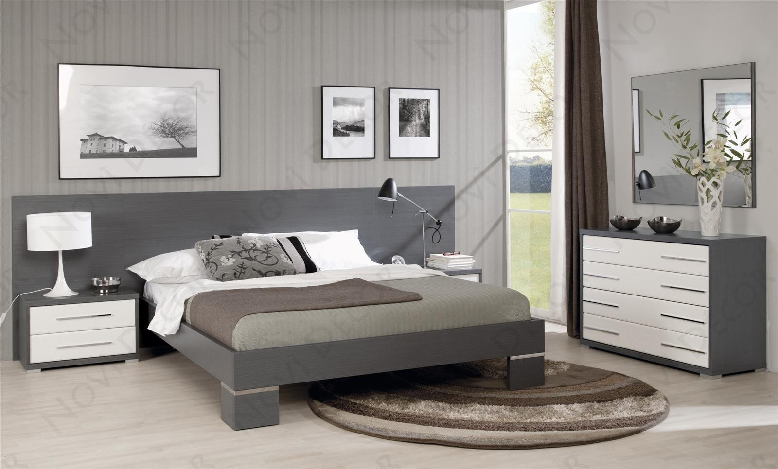 silver wood bedroom sets photo - 9