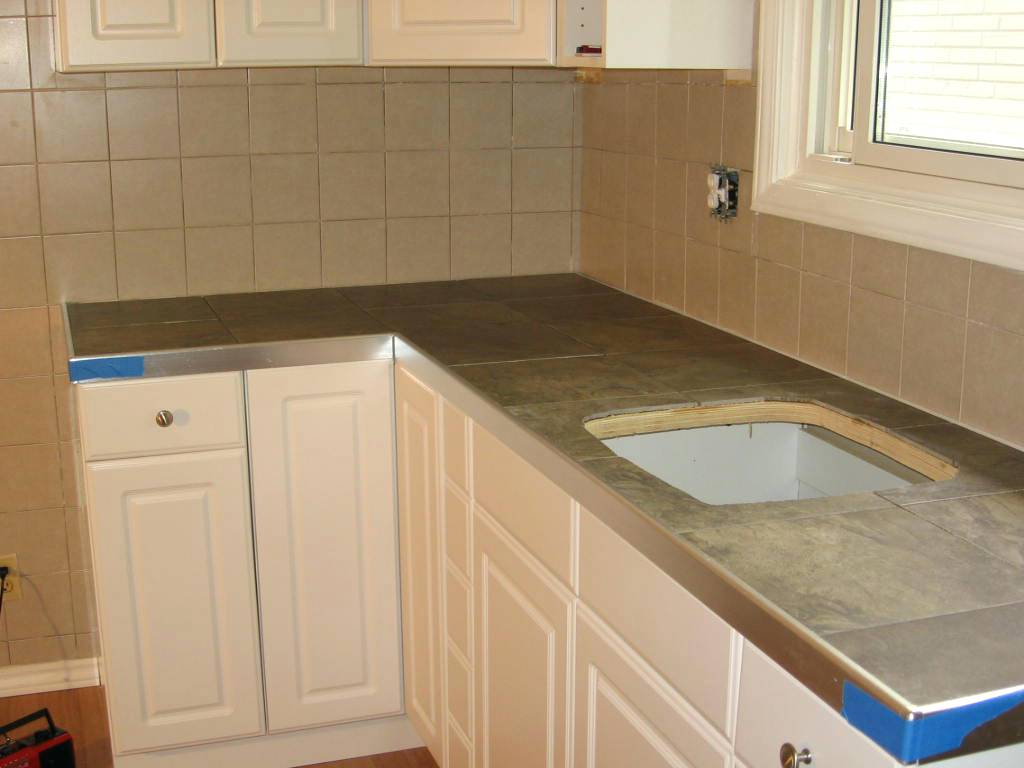 slate tile for kitchen countertops photo - 9