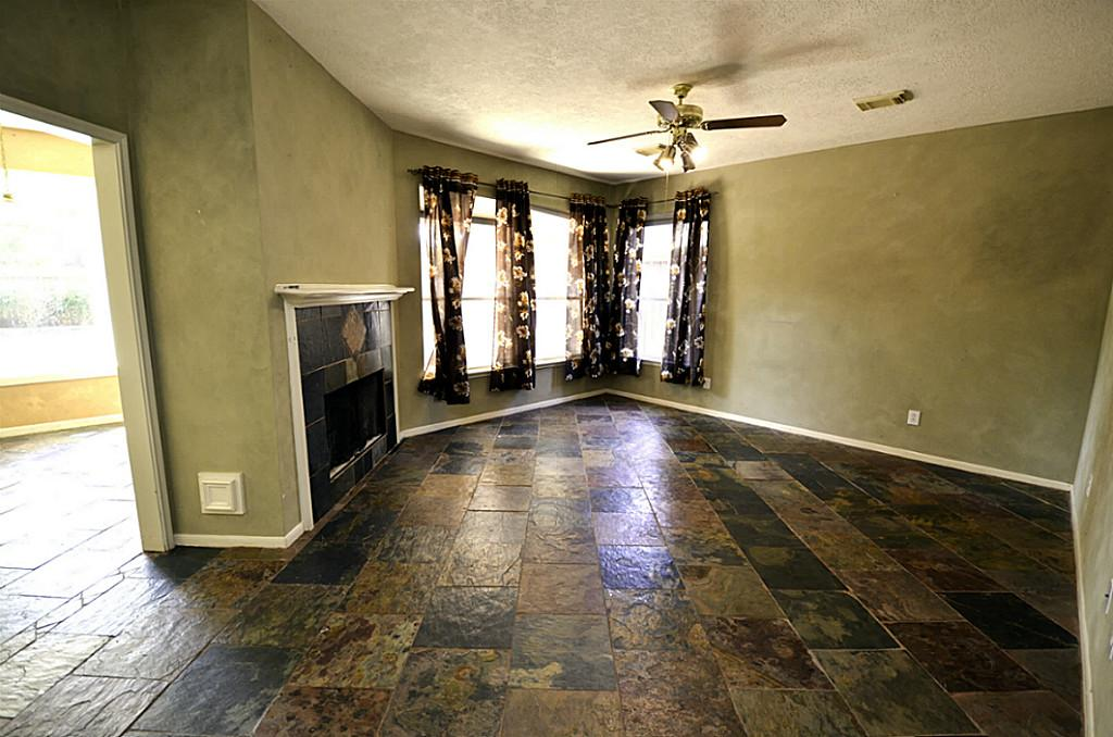 Slate Tile For Living Room Photo   8
