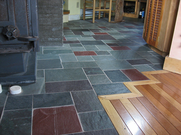 Slate Tile For Living Room Photo