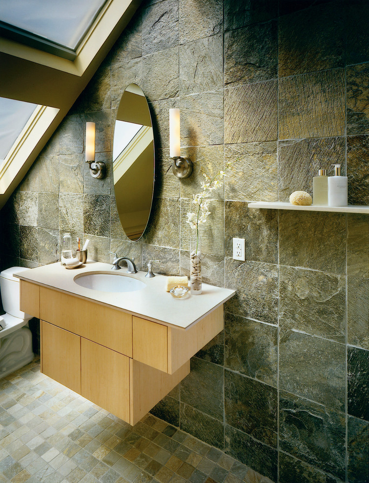slate tile for shower walls photo - 8