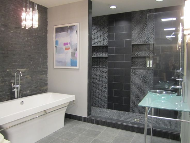 slate tile for shower walls photo - 9