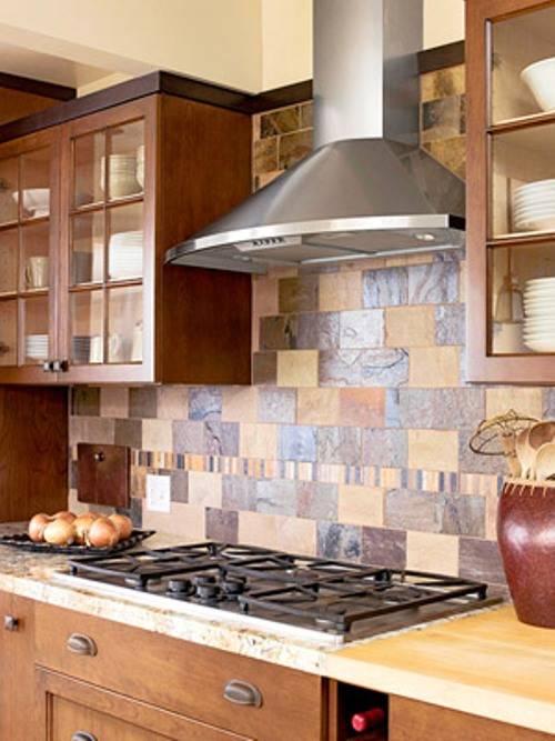 slate tile good for kitchen photo - 10