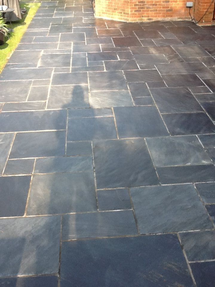 slate tiles for a patio photo - 3