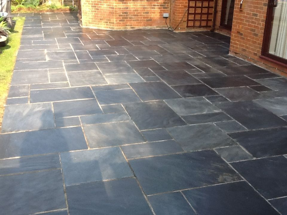 slate tiles for a patio photo - 4