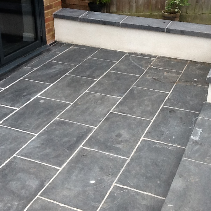 slate tiles for a patio photo - 5
