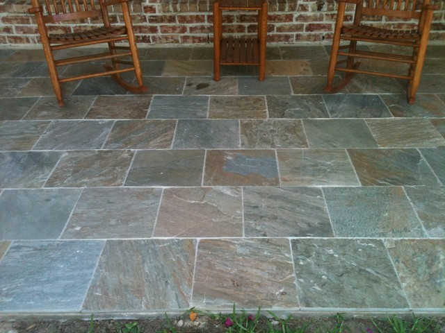 slate tiles for a patio photo - 8