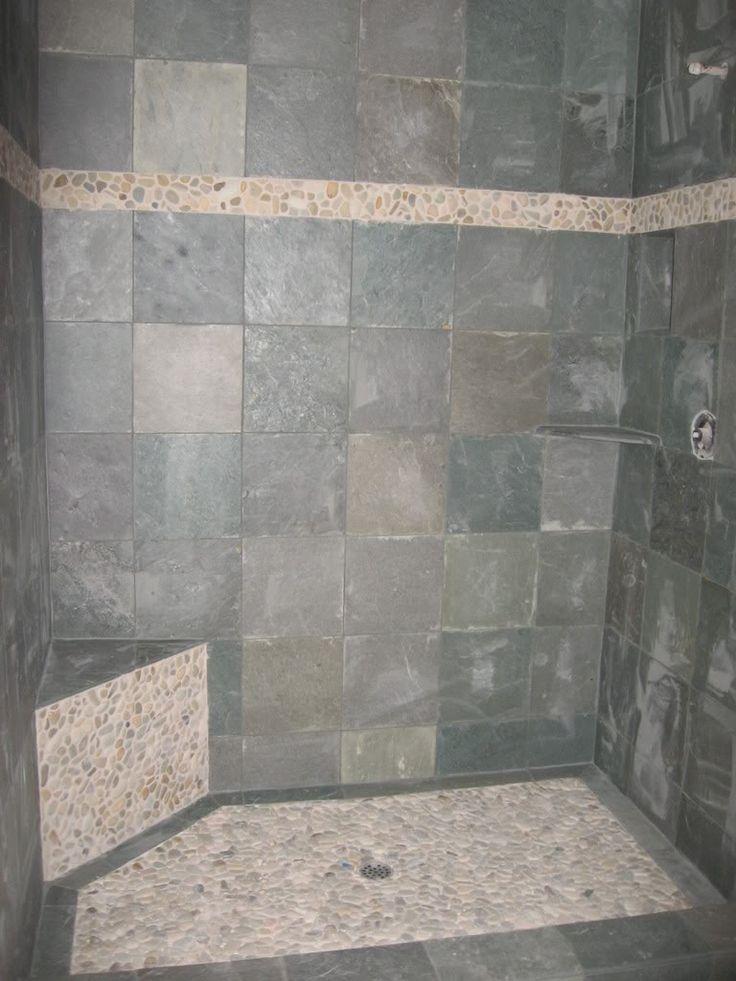 slate tiles for bathroom shower photo - 4