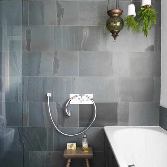 slate tiles for bathroom shower photo - 9