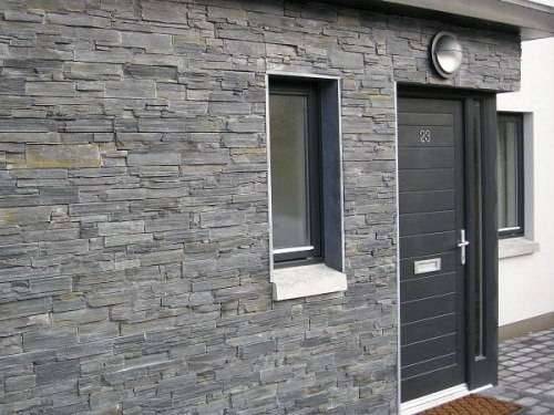 slate tiles for exterior walls photo - 1