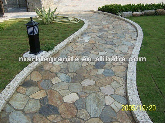 slate tiles for gardens photo 1 - Garden Tiles
