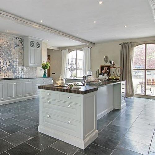 slate tiles for kitchen photo - 1