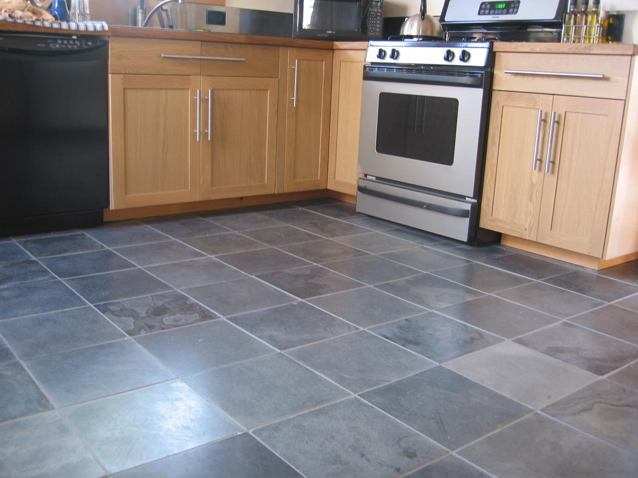 slate tiles for kitchen photo - 10