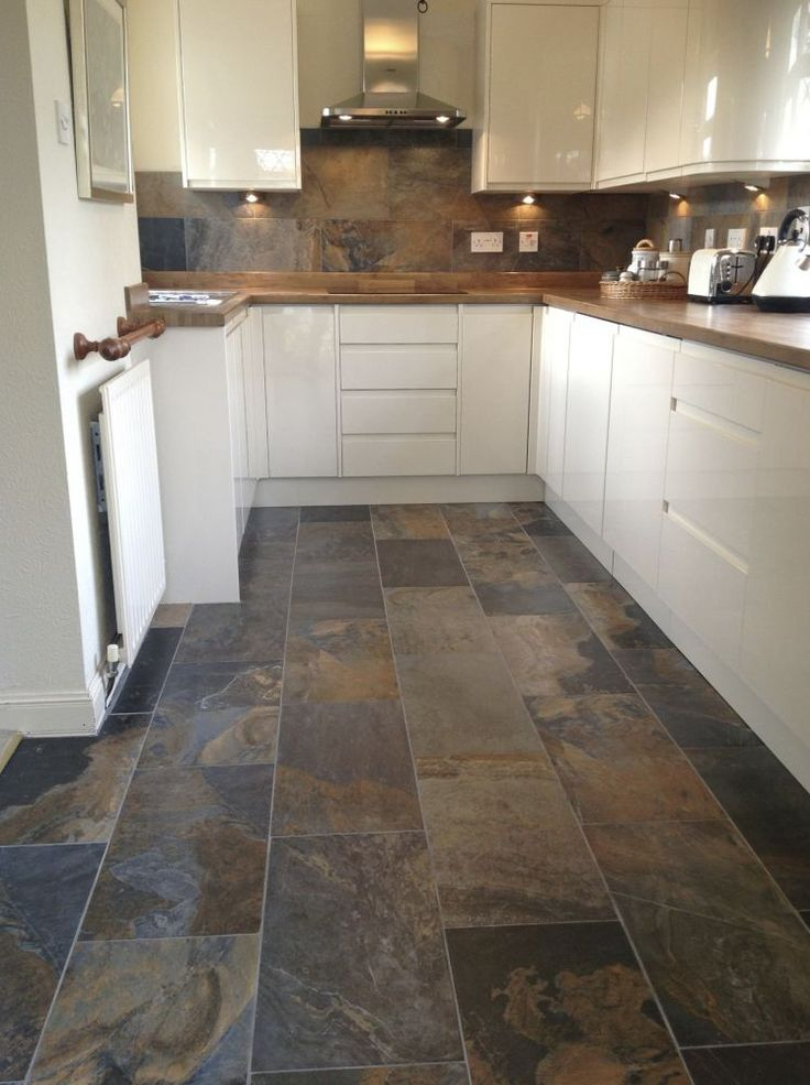 slate tiles for kitchen photo - 2