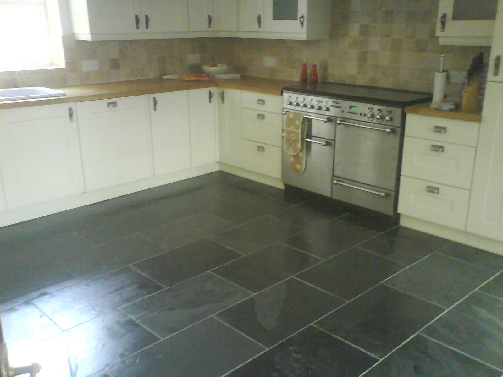 slate tiles for kitchen photo - 3