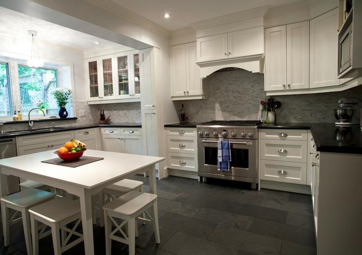 slate tiles for kitchen photo - 4