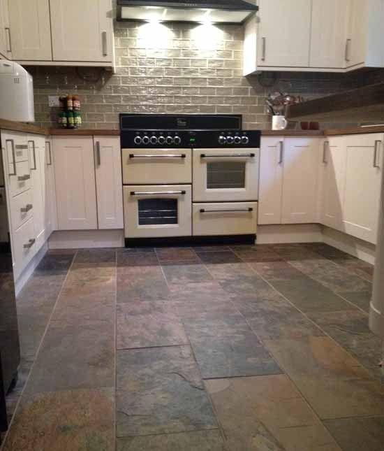 slate tiles for kitchen photo - 9