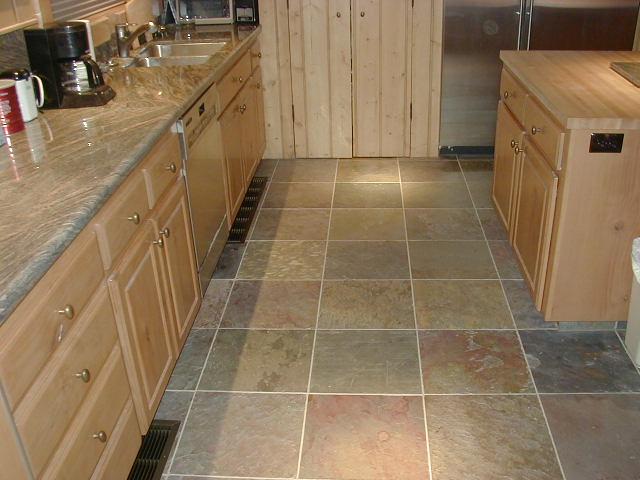 slate tiles for kitchen floor photo - 3