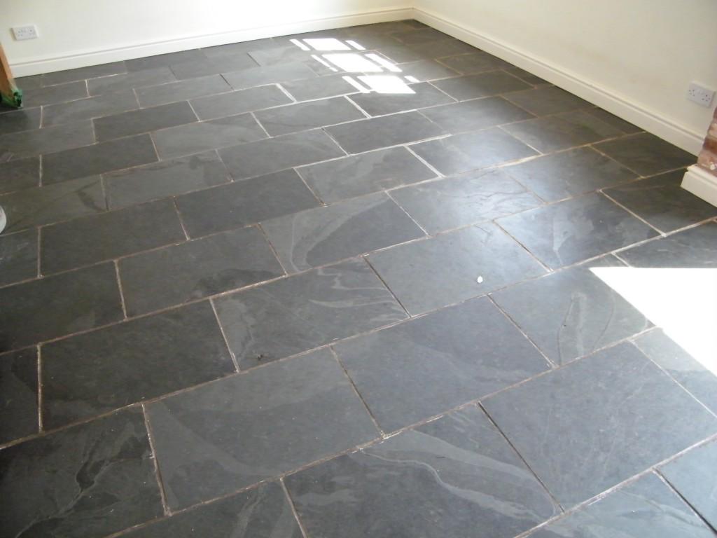 slate tiles for kitchen floor photo - 5