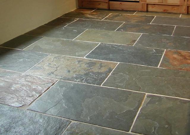 slate tiles for kitchen floor photo - 6