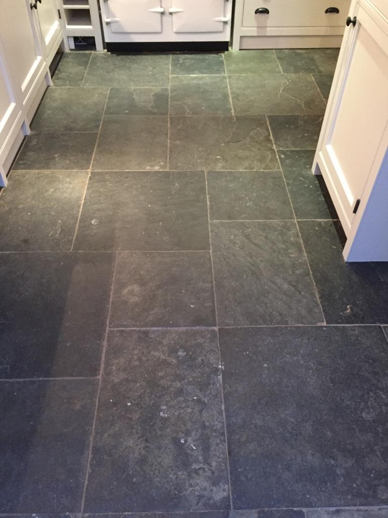 slate tiles for kitchen floor photo - 7