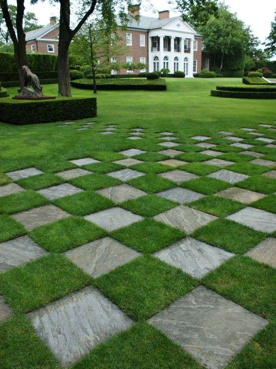 slate tiles for landscaping photo - 1