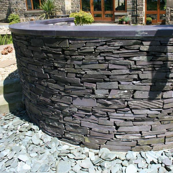 slate tiles for landscaping photo - 10