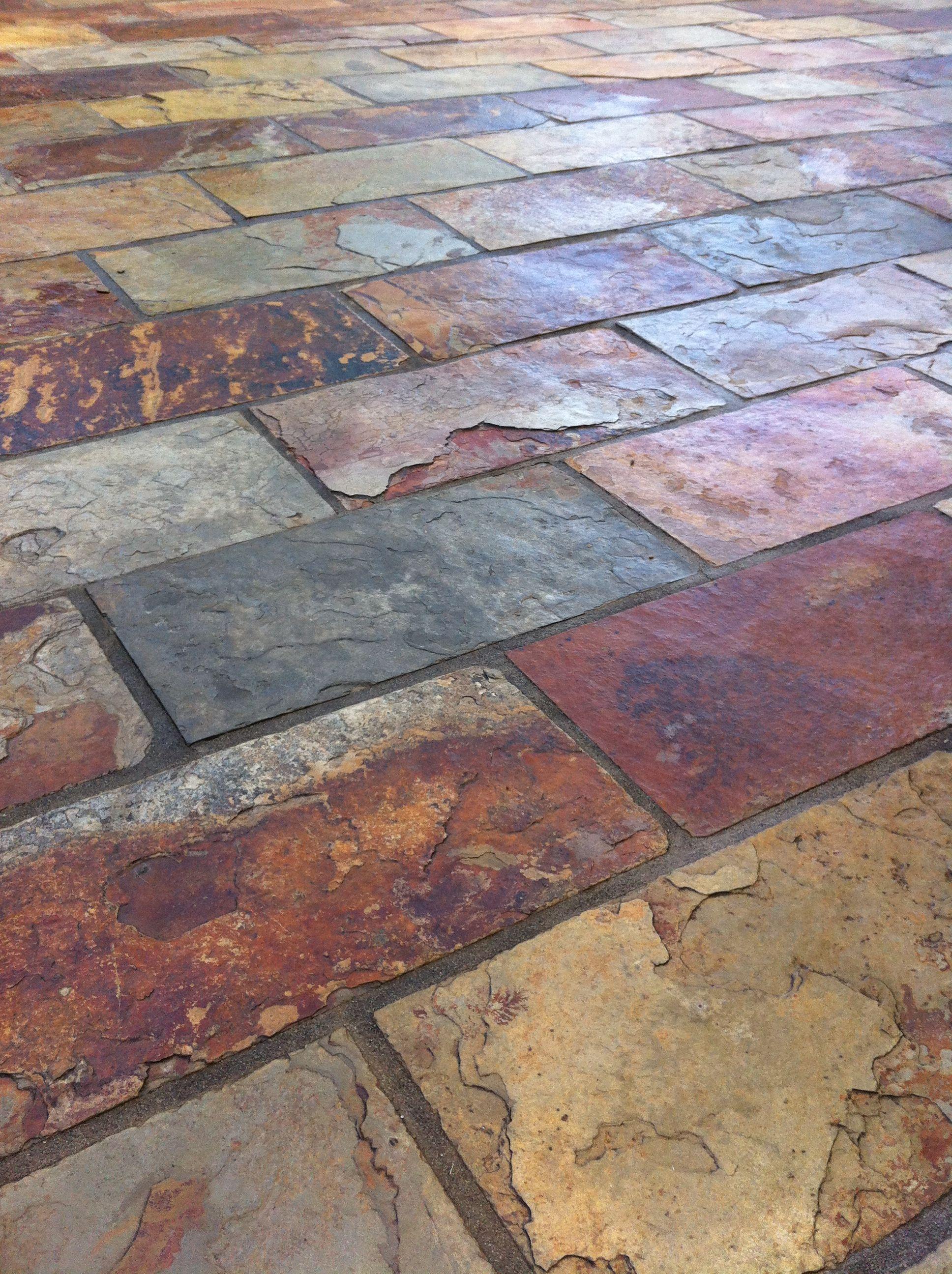 slate tiles for landscaping photo - 2