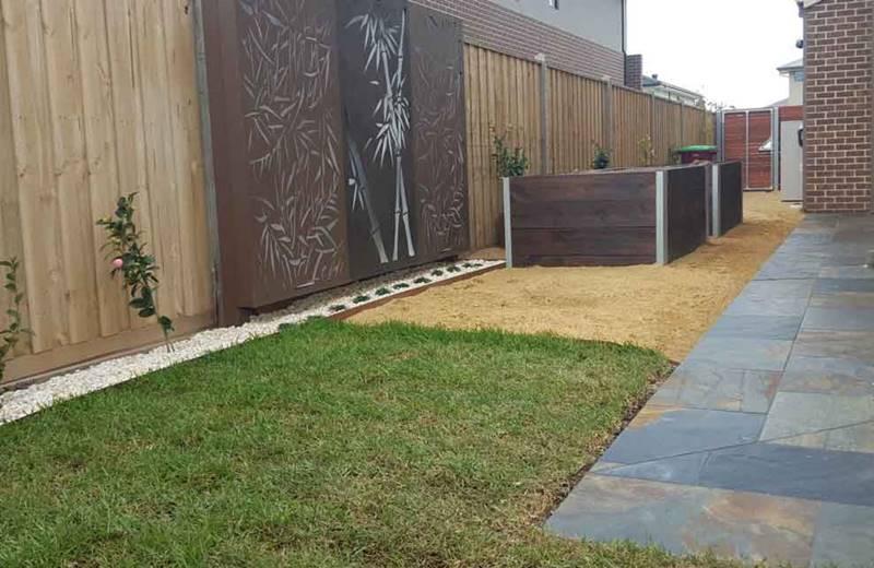 slate tiles for landscaping photo - 7