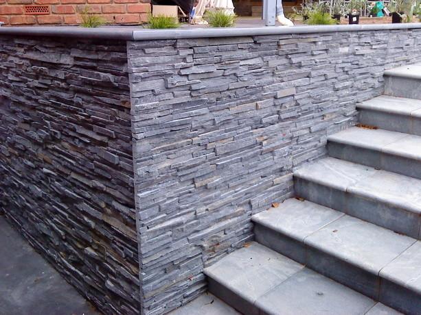slate tiles for outside walls photo - 5