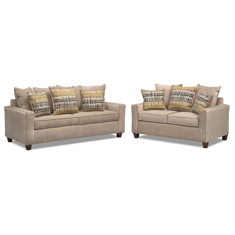 sleeper sofa and loveseat set photo - 10