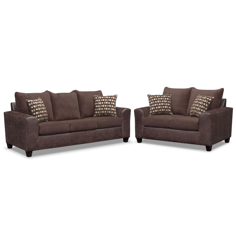 sleeper sofa and loveseat set photo - 6