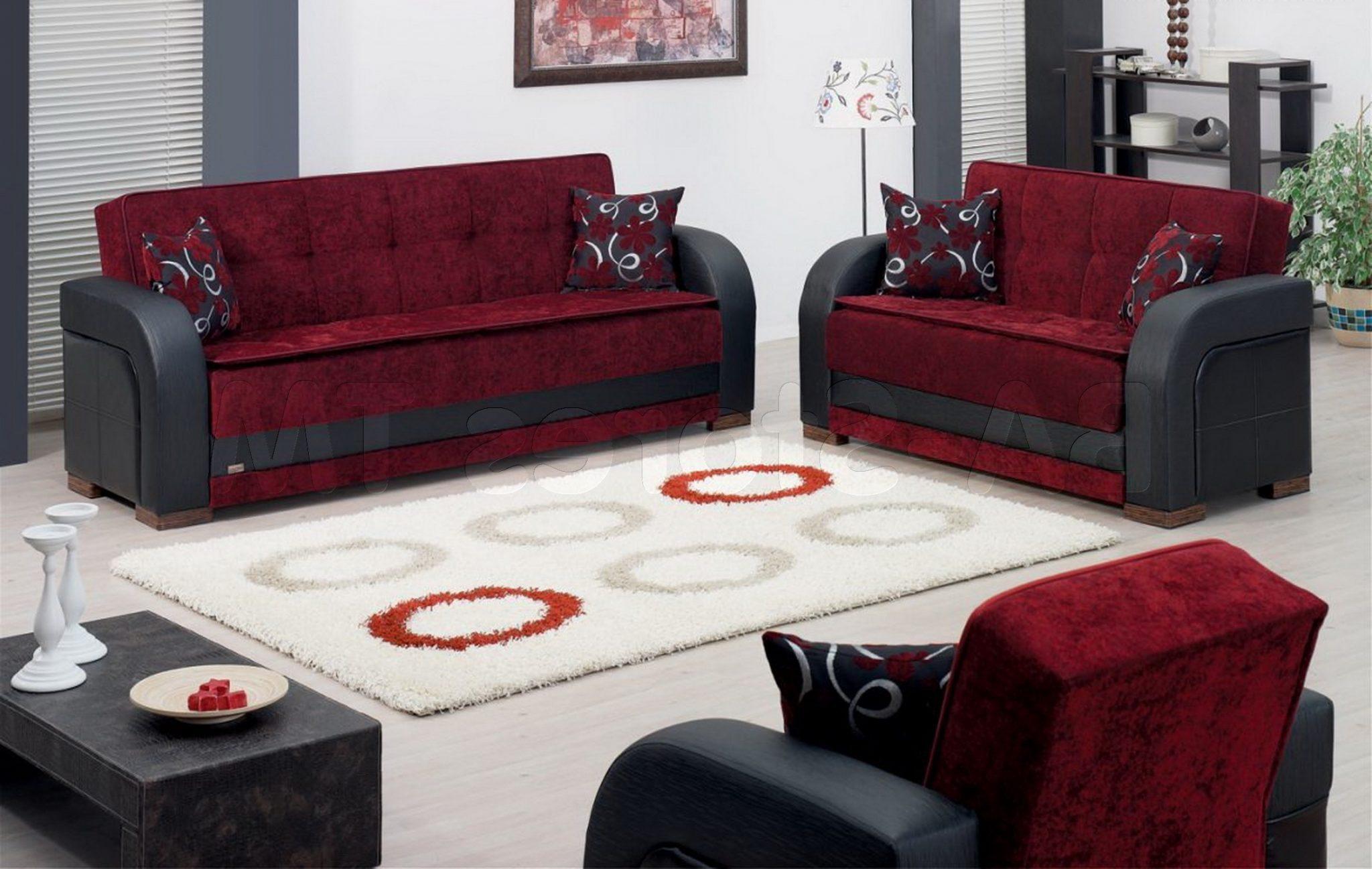 sleeper sofa and loveseat set photo - 8