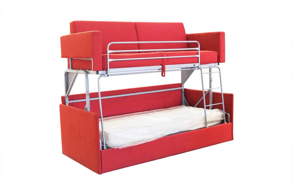 sleeper sofa bunk bed photo - 1