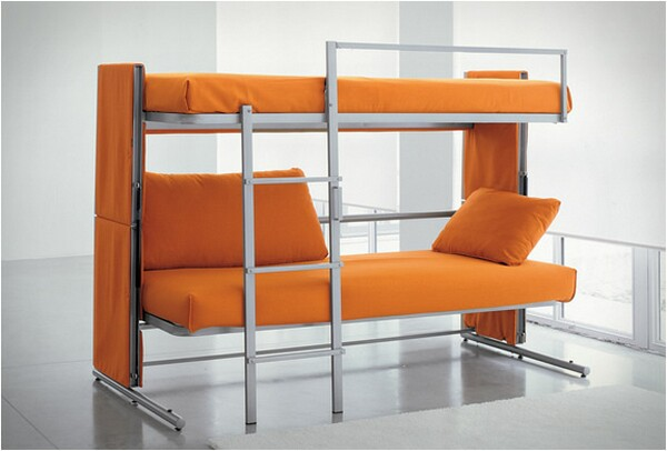sleeper sofa bunk bed photo - 4