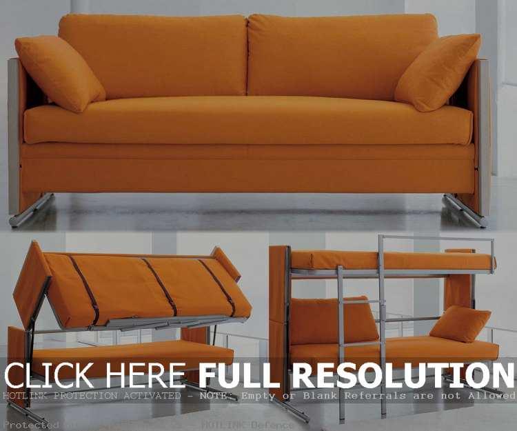 sleeper sofa bunk bed photo - 8