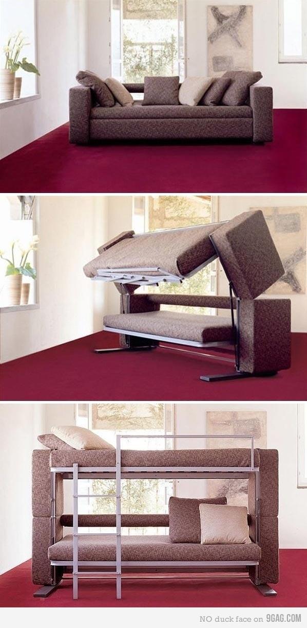 sleeper sofa bunk bed photo - 9