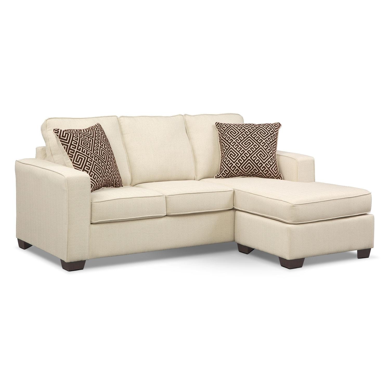 sleeper sofa chaise photo - 1