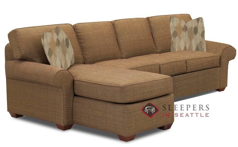 sleeper sofa chaise photo - 10