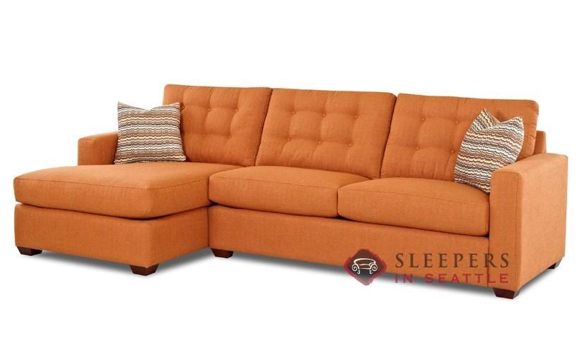 sleeper sofa chaise photo - 3