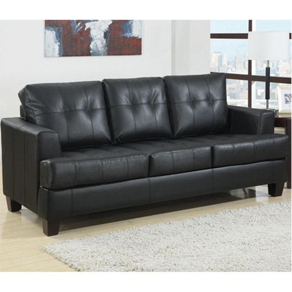 sleeper sofa tufted photo - 7